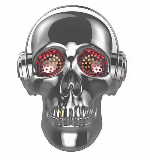 Skull Bluetooth Speaker with LED Lights - Christmas Gifts for 12 Year Old Boys