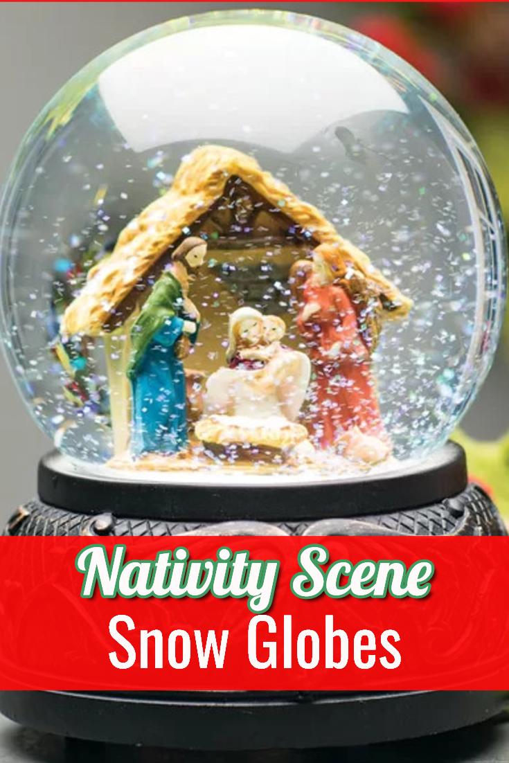 Best Nativity Scene Snow Globes